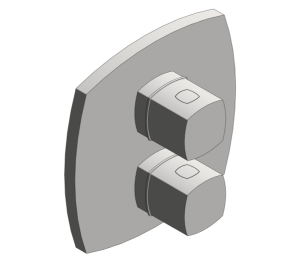 Product: Grohe Grandera Thermostatic Bath Mixer with Integrated 2-Way Diverter - 19948000