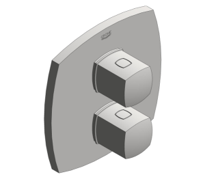 Product: Grohe Grandera - Thermostatic Shower Mixer - 19937000