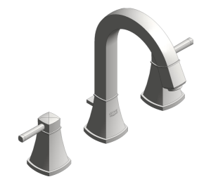 Product: Grohe Grandera - Three Hole Basin Mixer M Size - 20389000