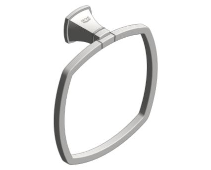 Revit, Bim, Store, Components, MEP, Object, Grohe, Plumbing, Fixtures, METRIC, Grandera, Towel, Ring, 40630000