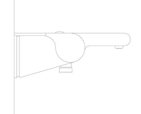 Revit, Bim, Store, Components, MEP, Object, Grohe, Plumbing, Fixtures, 14, METRIC,Grohtherm,2000,Thermostatic,bath/shower,mixer,1/2″,34464001