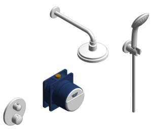 Product: Grohe Grohtherm Round Bundle Perfect Shower Set 160 - 34735000