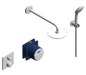 Product: Grohe Grohtherm Round Bundle Perfect Shower Set 210 - 34734000