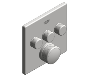 Product: Grohe Grohtherm SmartControl Thermostat - 29126000