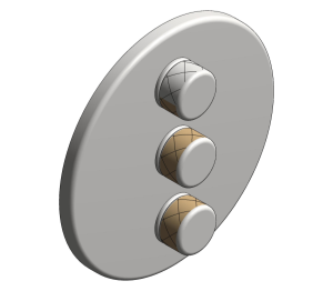 Product: Grohe Grohtherm SmartControl Triple Volume Control - 29122000