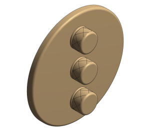Product: Grohe Grohtherm SmartControl Triple Volume Control - 29122EN0