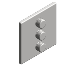 Product: Grohe Grohtherm SmartControl Triple Volume Control - 29127000