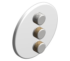 Product: Grohe Grohtherm SmartControl Triple Volume Control - 29152LS0