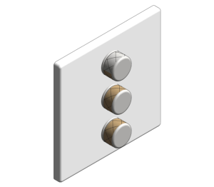 Product: Grohe Grohtherm SmartControl Triple Volume Control - 29158LS0