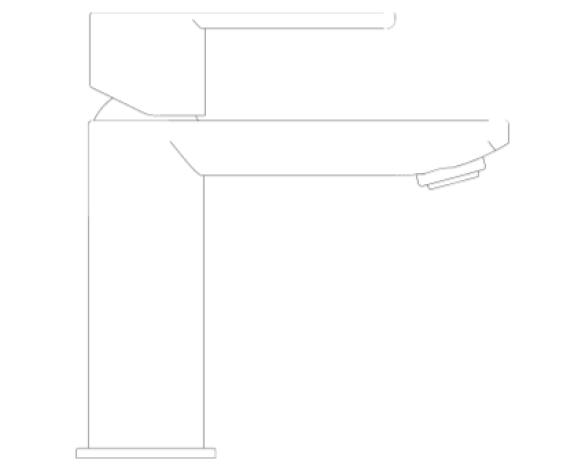 Revit, Bim, Store, Components, MEP, Object, Grohe, Plumbing, Fixtures, Lineare,Basin,mixer,1/2″,XS-Size,23791001