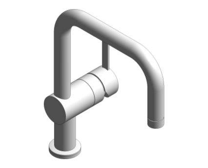 Revit, Bim, Store, Components, MEP, Object, Grohe, Plumbing, Fixtures, 14, METRIC, Two, Handled, Basin, Mixer, 125128000