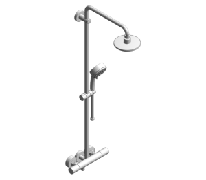 Product: Grohe New Tempesta Cosmopolitan 160 Shower System with Thermostat - 27922000