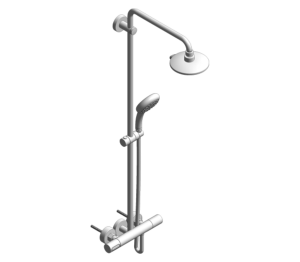 Product: Grohe Power & Soul System 190 Shower System With Thermostat - 27909000