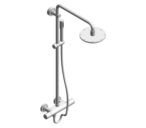 Product: Grohe Rainshower System 210 Shower System with Thermostat - 27032001