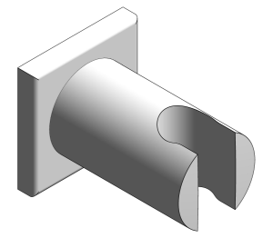 Product: Grohe Rainshower Wall Holder - 27075000