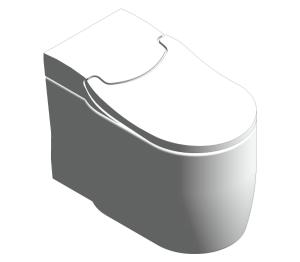 Product: Grohe Sensia Arena - Floor Standing Shower Toilet - 39381SH0