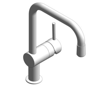 Revit, Bim, Store, Components, MEP, Object, Grohe, Plumbing, Fixtures, METRIC, Hot, Cold, Water, WC, Bathroom, Sink, Mixer, 32067000