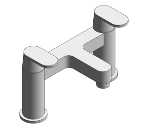Product: Grohe Two Handled Bath Filler - 25128000
