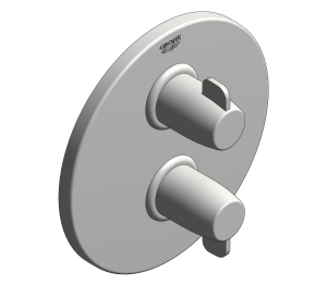 Product: Grohtherm Special Thermostatic bath/shower mixer trim - 29055000