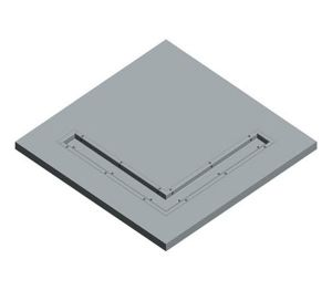 Product: Dryseal GRP Box Gutter (Corner)