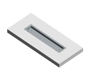 Product: Dryseal GRP Box Gutter (Straight)