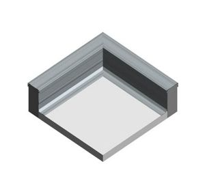 Product: Dryseal GRP Parapet Flashing (Corner)