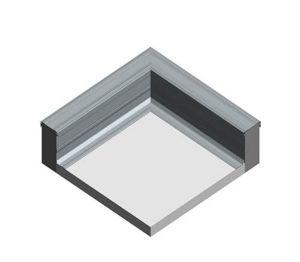 Product: Dryseal GRP Parapet Flashing (Corner)