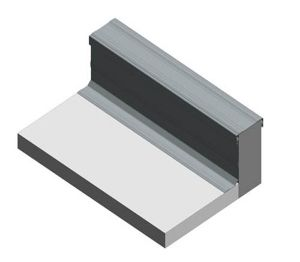 Product: Dryseal GRP Parapet Flashing (Straight)