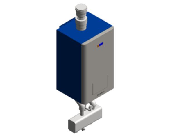 Revit, BIM, Download, Free, Components, Heating, Hamworthy, Boilers, Wall, Hung, Pre-mix, Gas, Fired, Modular, Single, Stratton, MK2