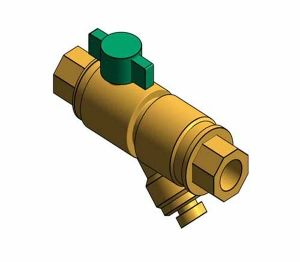 Product: Fig. 1807C - Strainer Ball Valve