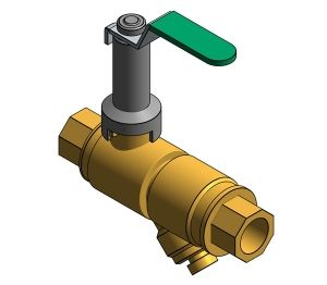 Product: Fig. 1807CEXT - Strainer - DZR Strainer