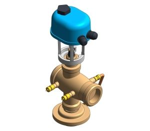 Product: Fig. 1932 Pressure Independent Control Valve DN40 & DN50