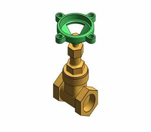 Product: Fig. 33 - Gate Valve - Bronze