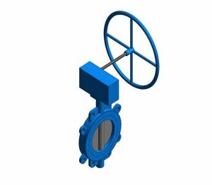 Product: Fig. 970G - Fully-lugged Wafer Pattern Butterfly Valve