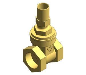 Product: Bronze Lockshield Gate Valve - HV5520LS