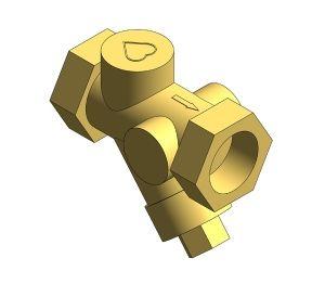 Product: Bronze Strainer - DZR - 14111 - Series 10