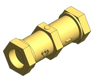 Product: BSP Double Check Valve - HVDCV