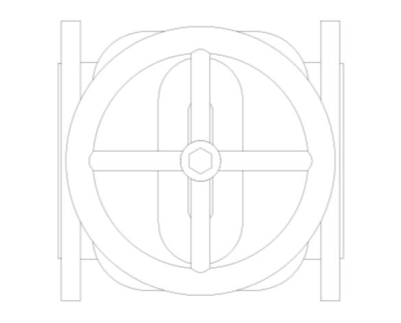 Revit, Bim, Store, Components, MEP, Object, Herz, Valves, Plumbing, Fixtures, 13, Metric, Gate,Valve,Bronze,HV5150,Cast,iron,gate,valve,flanged