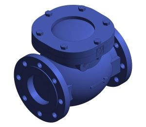 Product: Cast Iron Swing Check Valve - HV5153