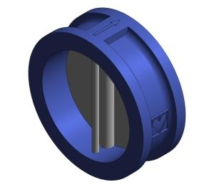 Product: Cast Iron Wafer Check Valve - HVWC25