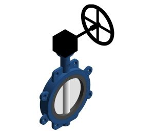 Product: Fully Lugged Gear Butterfly Valve - HVBFFLG