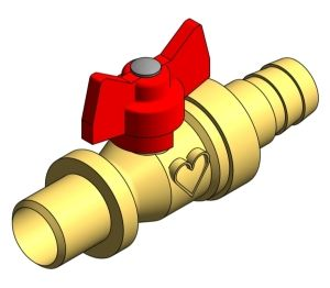 Product: Hose Union Ball Valve - 12512