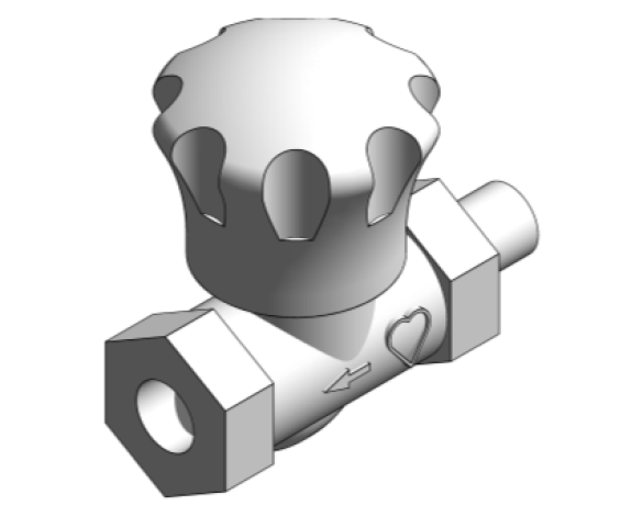 Revit, Bim, Store, Components, MEP, Object, Herz, Valves, Plumbing, Fixtures, 13, Metric, thermostatic, radiator, valve, angle, reverse, body, 15523