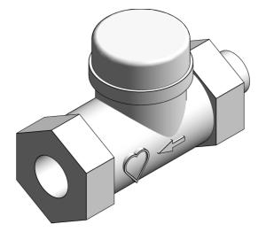 Product: Radiator Lock-shield Thermostatic Valve - 13923