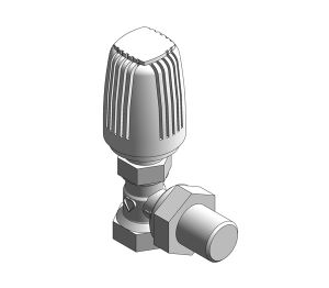 Product: Radiator Thermostatic Valve (Body Angle) - 17724