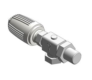 Product: Radiator Thermostatic Valve (Body Angle Reverse) - 17728