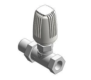 Product: Radiator Thermostatic Valve (Body Straight) - 17723