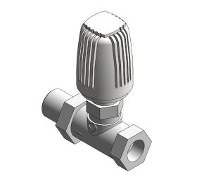 Product: Radiator Thermostatic Valve (Body Straight) - 17723