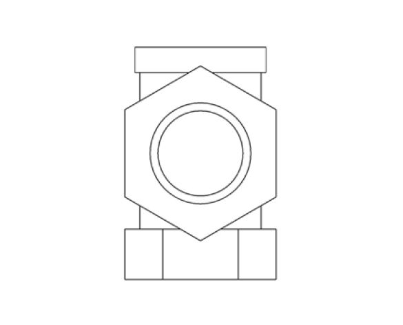 Revit, Bim, Store, Components, MEP, Object, Herz, Valves, Plumbing, Fixtures, 13, Metric, lockshield, 13724, angle,valve