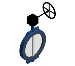 Product: Semi Lugged Gear Butterfly Valve - HVBFSLG